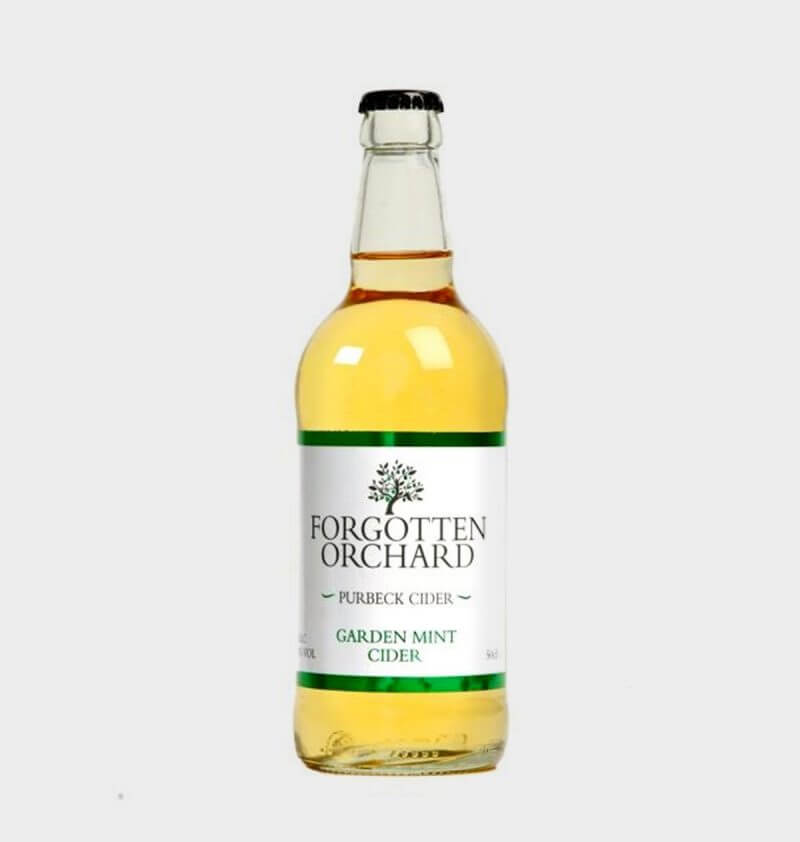Forgotten Orchard Garden Mint Cider by Purbeck Cider