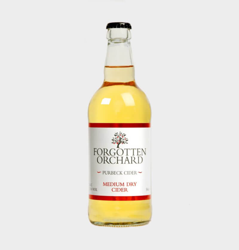 Forgotten Orchard Medium Dry Cider by Purbeck Cider